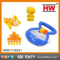 Interesting shark nets children baby bath toys
