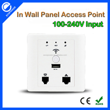 150Mbps Wireless Wall Mount Access Point 802.11N Wireless Indoor 150M In Wall AP
