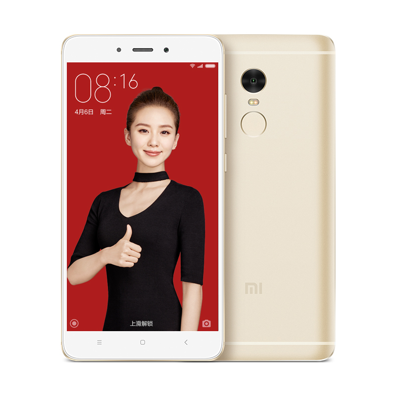 Wing Xiaomi Redmi Note 4 Red Mi Note4 Hanging China Suppliers 3GB RAM 64GB ROM MIUI 8 Android 6.0 13MP Mobile