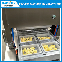 Modified atmosphere commercial food Vacuum tray sealing machine