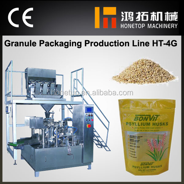 Certified full automatic cereal bag packing machine