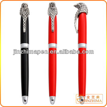 Promotional logo printing Eagle feature metal pen