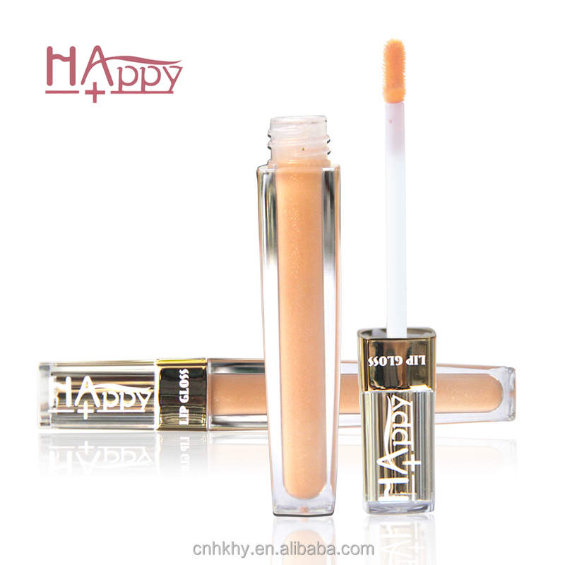 Happy+ Natural Ingredients No Harsh Chemicals Lip Gloss Private Label Light Up