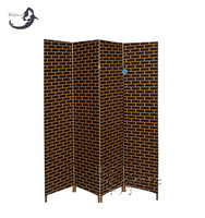 Best quality various size bamboo folding screen room divider