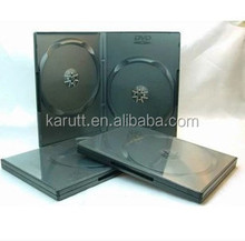 Black Square CD carrying case plastic DVD storage case