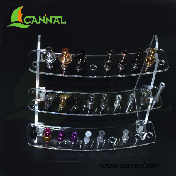 ECANNAL Stylish E Cigarette Drip Tip Display