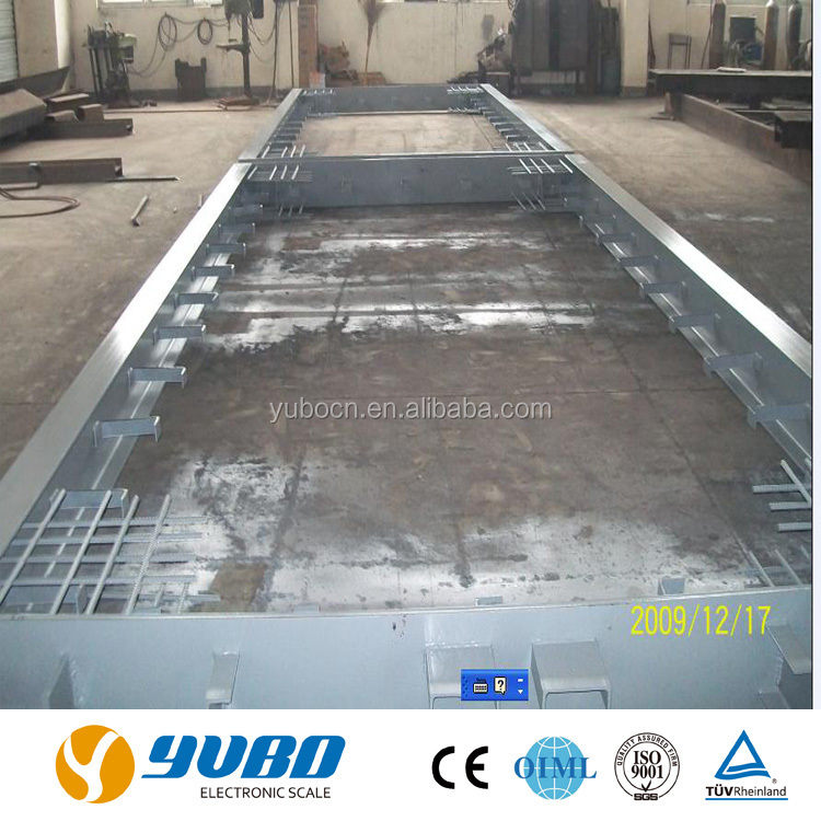 3*18m 60 ton concrete weighbridge / concrete truck scale