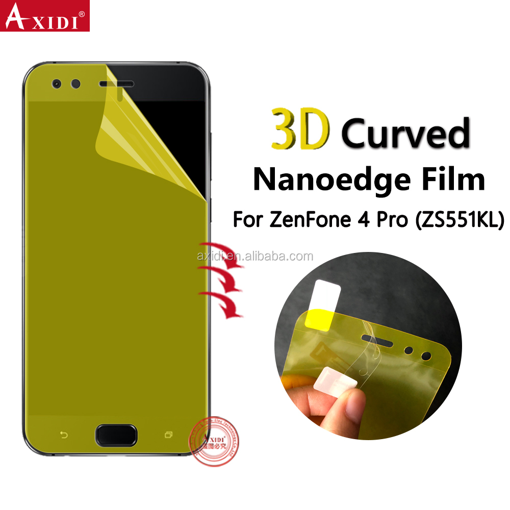 2018 New Design 3D Curved Film For ZenFone 4 Screen Protector ZE554KL Max ZC554KL Pro ZS551KL TPU Guard For Asus Mobile