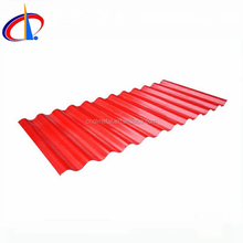 prepainted corrugated roofing metal glazed tiles