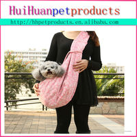 cotton fabric fashion new style durable dog carrier