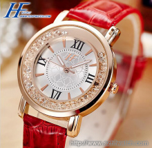 Fashion lady watch women Leather watch brand jewelry