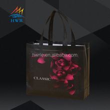 Simple Design Promotional PP Laminated Non Woven Shopping Bags Custom logo, Nonwoven shopping bags