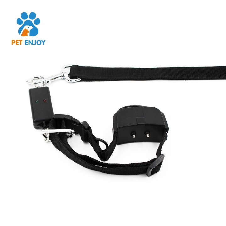 hot sale CE / RoHS / FCC black Leash training electronic remote dog training collar