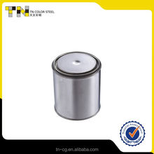 Professional supply different types blank aluminum cans square tea tin can