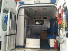High Quality Emergency electric ambulance car