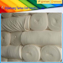 (OEM support) white polyester cotton grey fabric rolls