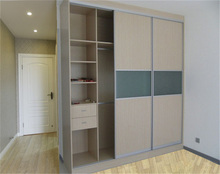 Generous appearance almirah designs with mirror E1 glade wood wardrobe