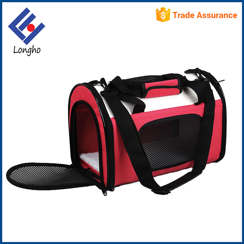Best selling products 2017 foldable dog cat bag carrier, stable base shoulder tote trendy travel folding pet carrier