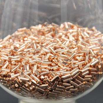 Custom copper target-copper pellets with high quality and high purity