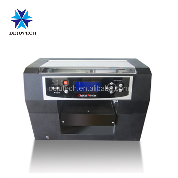 Eco solvent Printing machine A4 size phone case flatbed printer to print rigid mobile case and soft cell phone shell on hot sale