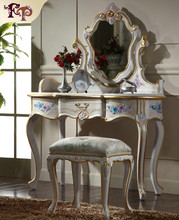 Gold leaf home furniture-classic dresser