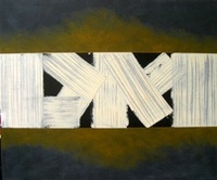 Broad_White_in_Black_Oil_&_Acrylic_On_Canvas