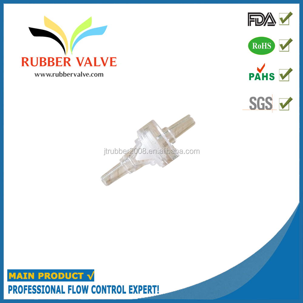 "1/8"" one way degassing valve plastic duckbill one way valves"