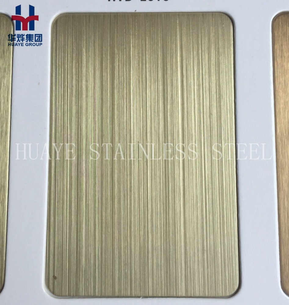 Stainless Steel Decorative Plate Hairline Satin NO.4 Mirror Sand Blasting Finished