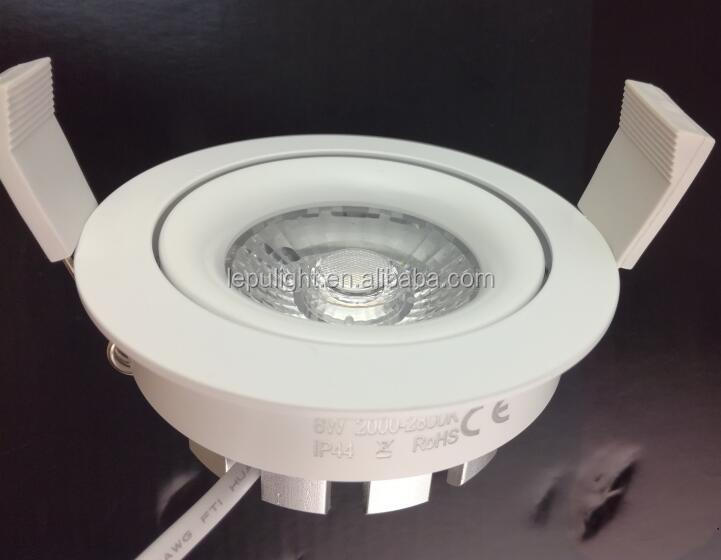 Sverige 75mm cutout cob led downlight 2000k-2800k dim to warm suitable for Sweden Finland