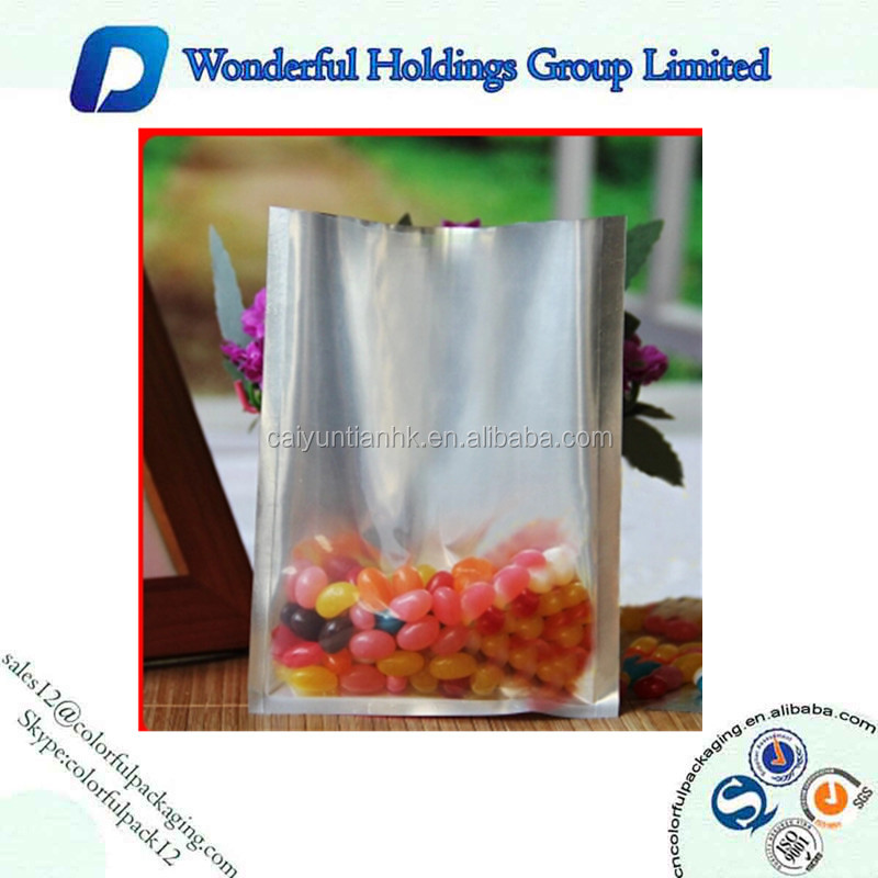Resealable Plastic Foil Home Food Ham,Bean Vacuum Packaging Bags Without Printing