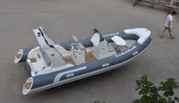 Liya 5.2m semi rigid inflatable boats motor boat Rib Boat