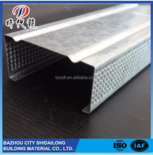 Promotional Galvanized steel profile/Drywall metal studs and tracks
