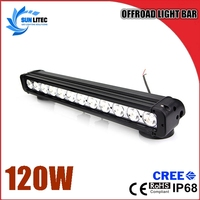 20.5inch 120W 10200lm led light bar off road for Jeep Truck SUV