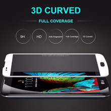 Manufacturers China LINNO 3D Curved Bubble free 9H 3D Tempered Glass screen protecter for LG K7