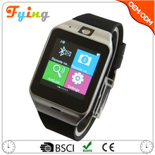 hand phone watch gv18 mobile cell phone watch, ce rohs smart watch sim card