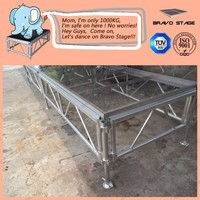 Aluminum Portable Stage Platform Adjustable