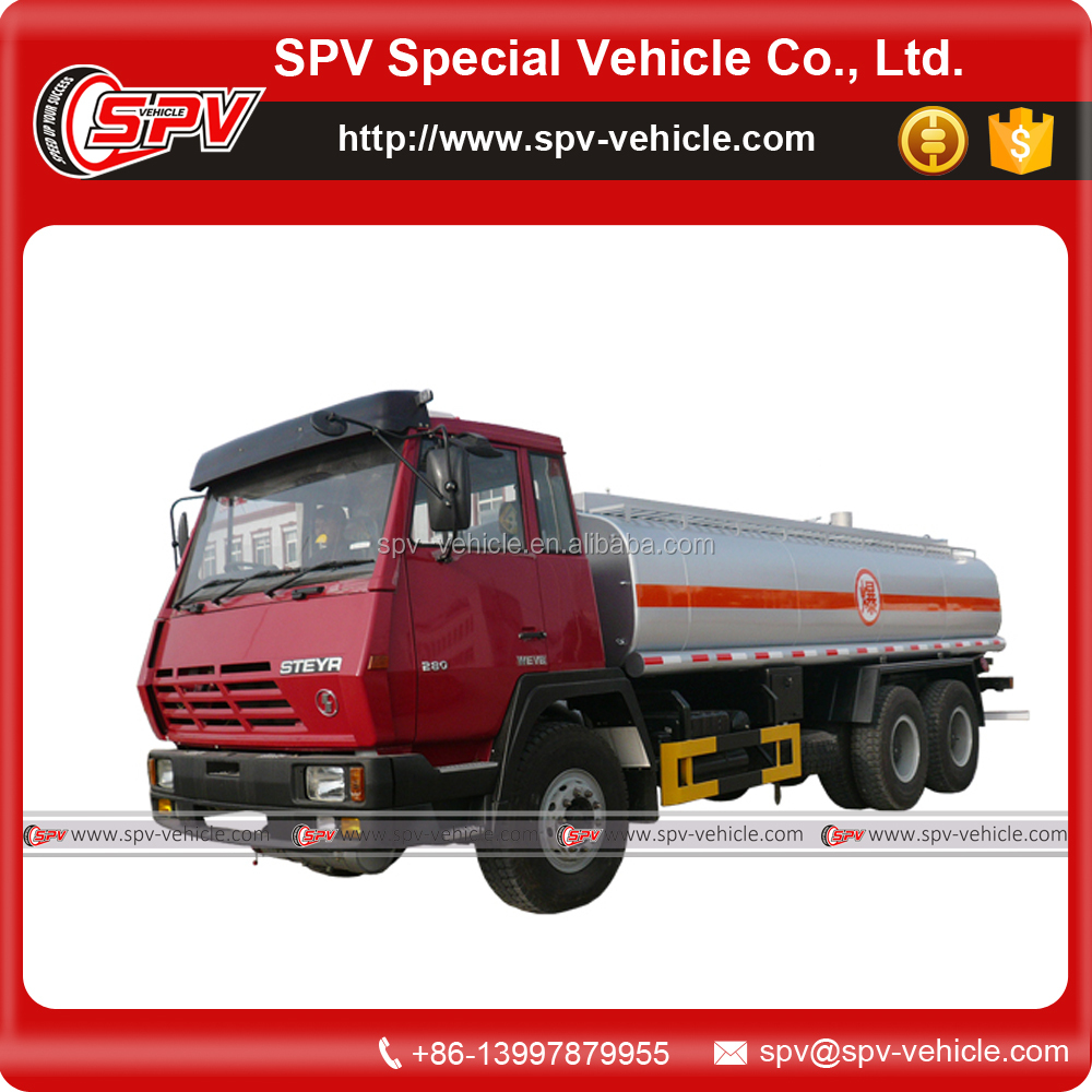 Brand New 6x4 25000 Litres Shacman Diesel Bowser Capacity