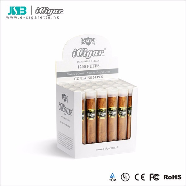High quality JSB iCigar E-Cigar starter kit disposable 1200 puffs 900 mAh electronic cigarette e-cigarette e cig best seller