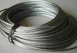 Steel Wire Rope from factory(6*19)/heavy duty lifting slings