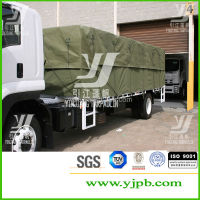 Waterproof tarpaulin canvas Cage Trailer Cover