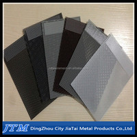 (17 years factory)High quality stainless steel diamond wire mesh used for grating,fence and window screen