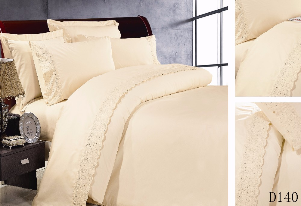 4pcs Factory customized dubai lace modern bed sheet sets for home