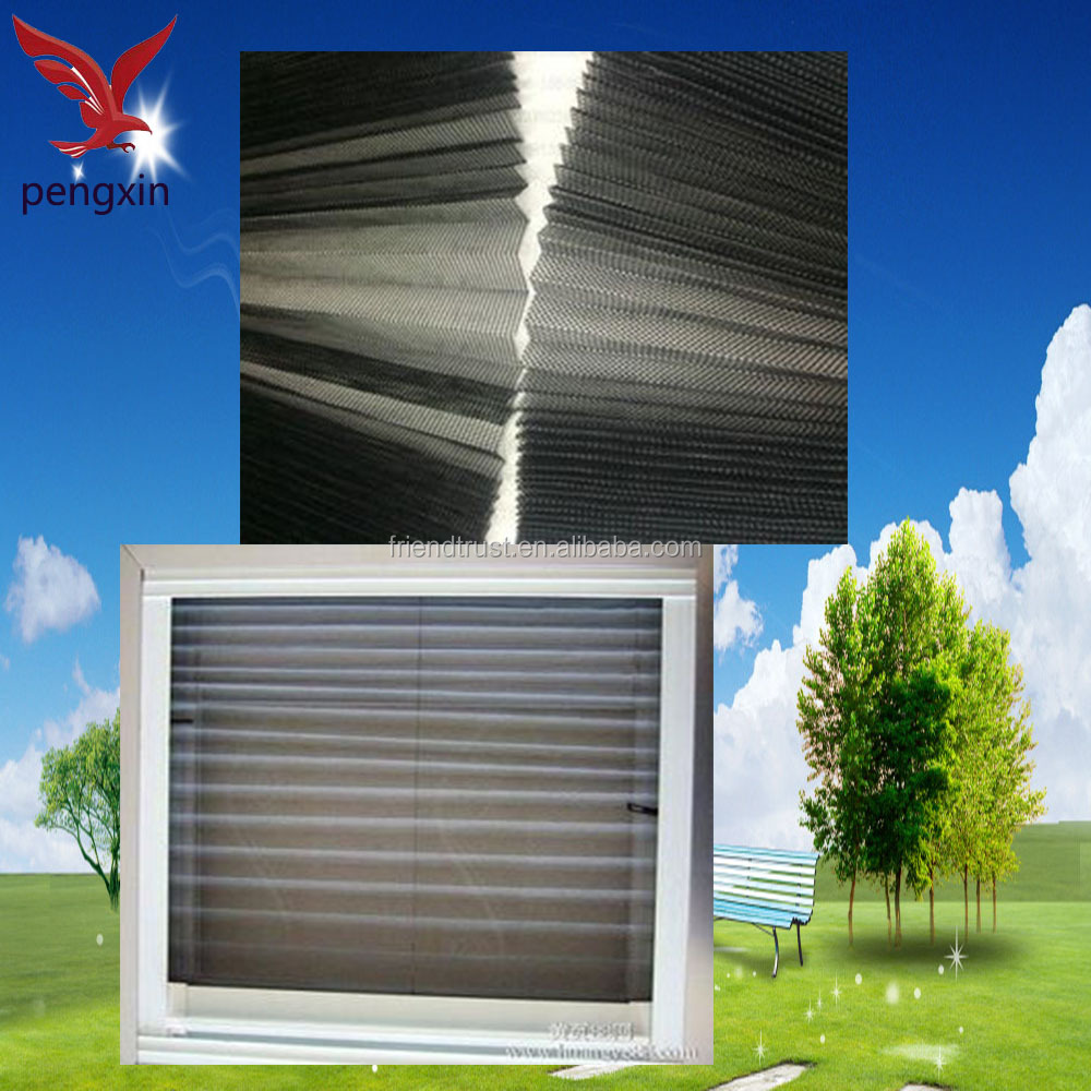 China Supply Roll Up Mosquito Net Folding Window Screen