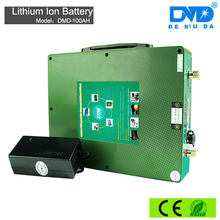 High capacity solar energy storage dry cell lithium 100ah 12 volt battery