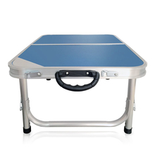 Aluminum Camping Folding Bed Computer Table with Carrying Handle