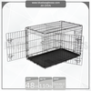 "Pet Products 2 Doors Portable Dog Cages [ 24"", 30"", 36"", 42"", 48"" ]"