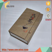 Various colors choices simple design decorative cardboard boxes