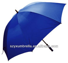 190T eight-panel polyester Oversize golf umbrella
