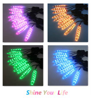 LED Lighting Kit Multicolor Motorcycle