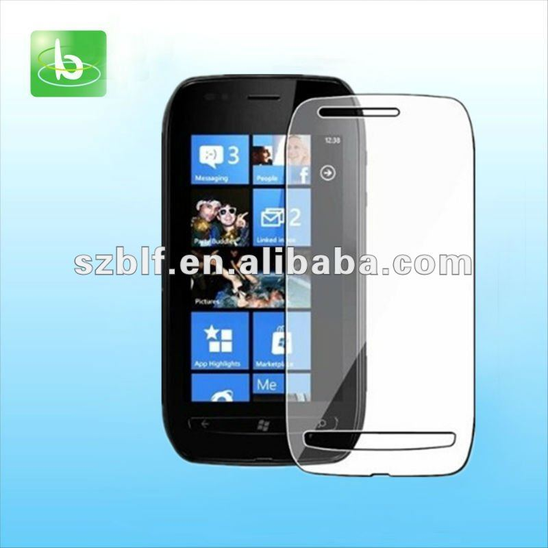 Hot selling mobile screen protector for nokia lumia 710 paypal
